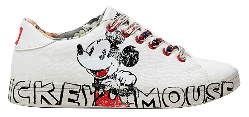 Desigual Dámske tenisky Shoes Cosmic Mickey 21SSKP231000 36