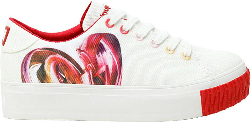 Desigual Dámske tenisky Shoes Street Heart 21SSKA211000 36