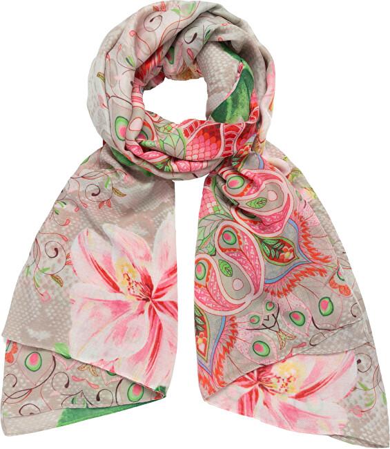Desigual Dámský šátek Fou Flower Valkiria Recta 21SAWA127019