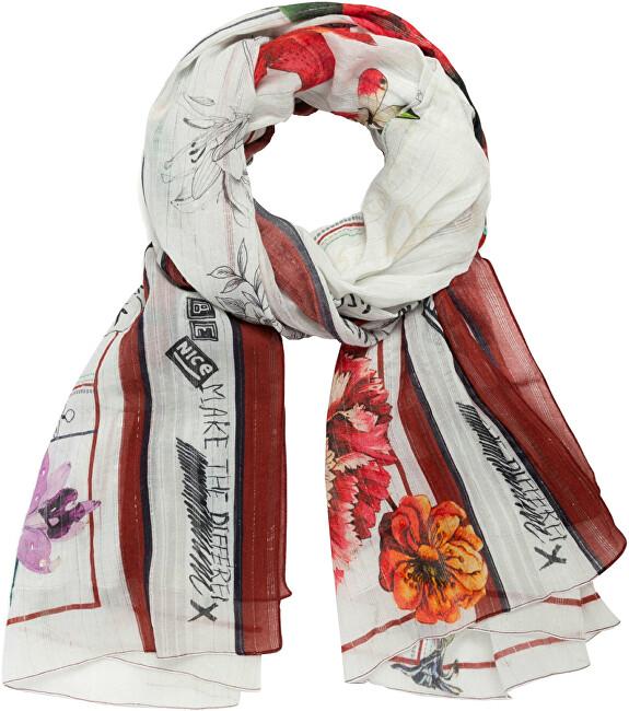 Desigual Dámský šátek Fou Mix Flower Desigu 21SAWA061021