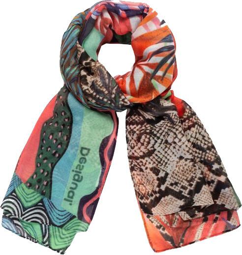 Desigual Dámský šátek Fou Pitahaya 21SAWA443000