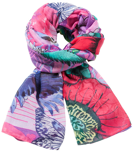 Desigual Šátek Foulard Rectangle Boho Mix 71W9WE6 3047