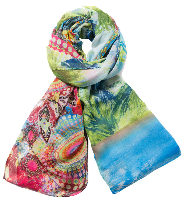 Desigual Šátek Foulard Rectangle Kotao 71W9EF3 4073