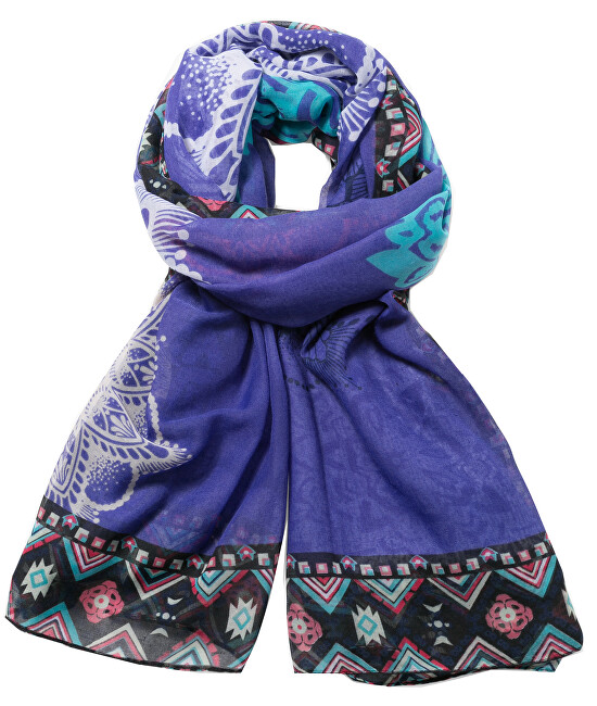 Desigual Šátek Foulard Rectangle New Emma 72W9EH6 5006