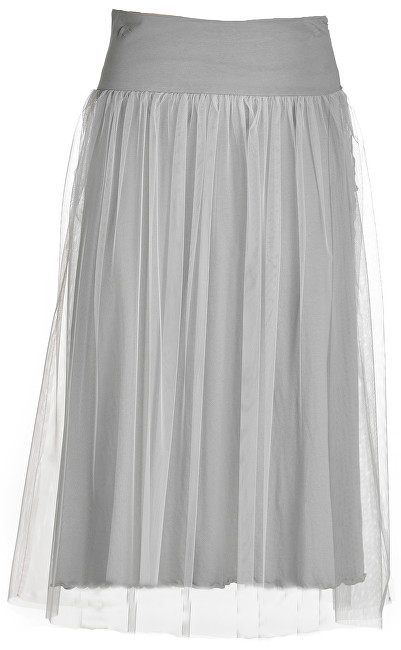 Dámska sukňa Side Knotted Skirt B74055 Pearl Gray