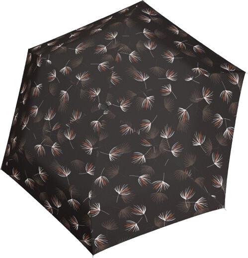Doppler Dámsky skladací mechanický dáždnik Fiber Havanna Desire 722365DE03