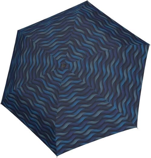 Doppler Dámsky skladací dáždnik Fiber Havanna gravity 722365GR02