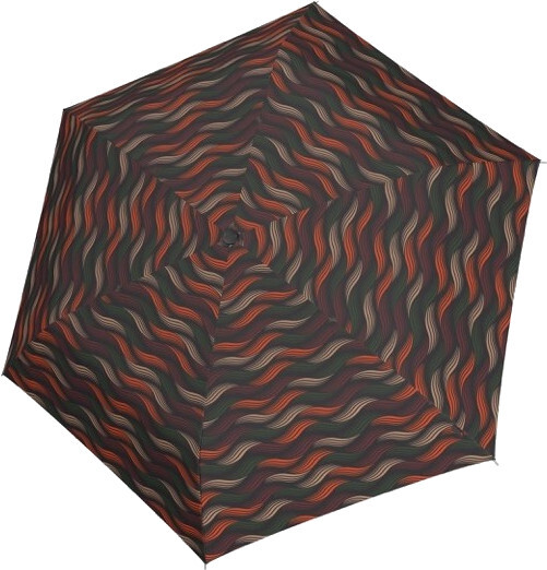 Doppler Dámsky skladací dáždnik Fiber Havanna gravity 722365GR03