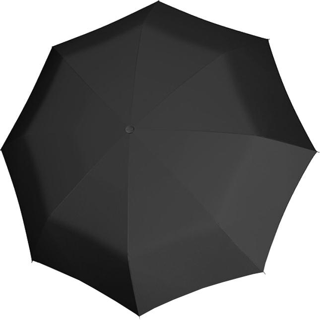 Doppler Pánsky skladací plne auto matický dáždnik Carbon Magic XM Business Uni Black 74366N