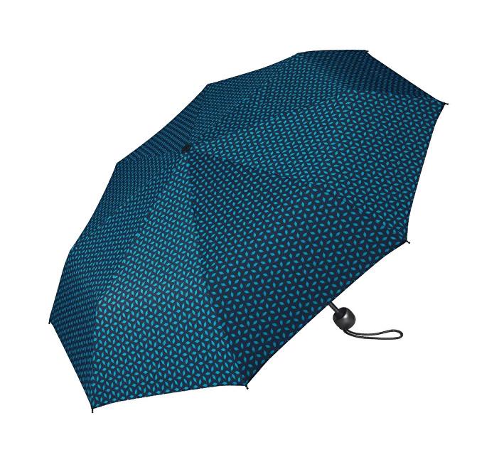 Esprit Dámský skládací deštník Mini Basic printed 50753 tmavě modrý se vzorem