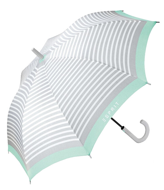 Esprit Palicový dáždnik Emotional Dots Long AC 53206 Beach Glass