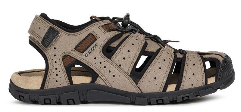 GEOX Pánske sandále Uomo Sandal Strada U6224B-0AU50-C6088 42
