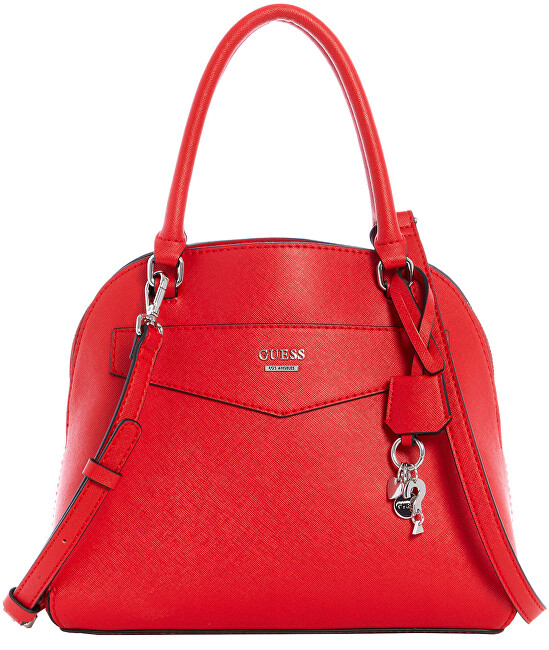 Guess Dámska kabelka Factor y Mont ero Logo Dome Satchel Red