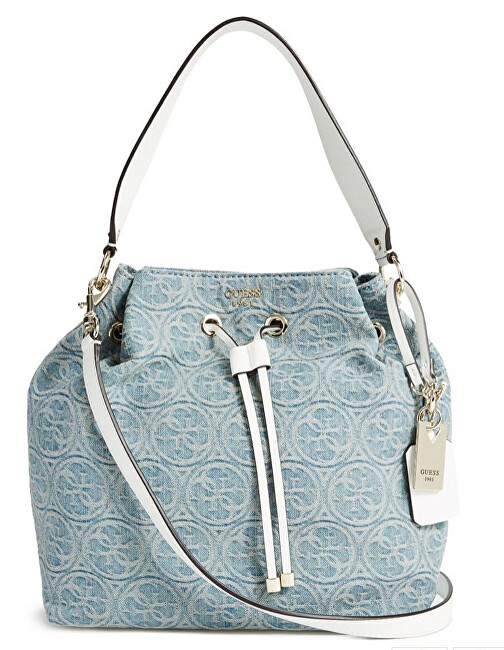 Guess Dámská kabelka Juliana Bucket Bag In Denim