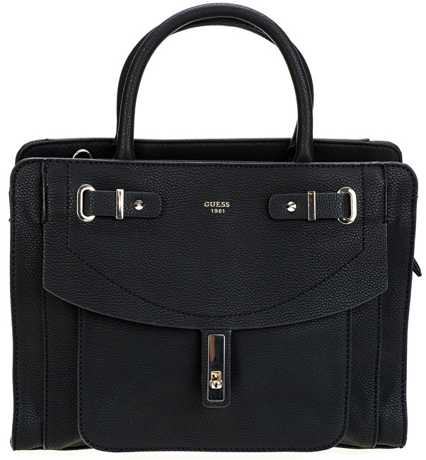 Geantă Kingsley Satchel Black