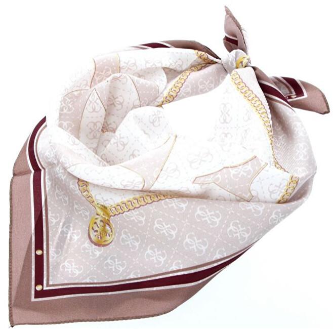 Guess Dámský šátek Jensen Foulard AW8547 SIL53 rose-ros