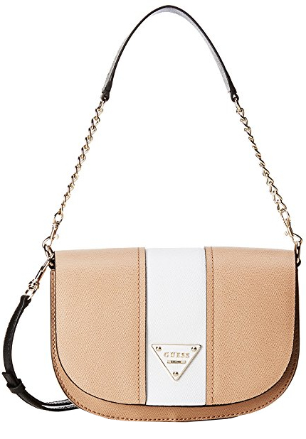 Guess Elegantní crossbody kabelka Cooper Flap Cross-Body