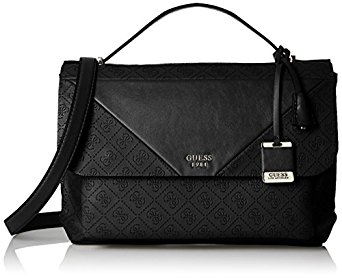 Guess Elegantní dámská kabelka GUESS Cammie Top Handle Flap Crossbody black