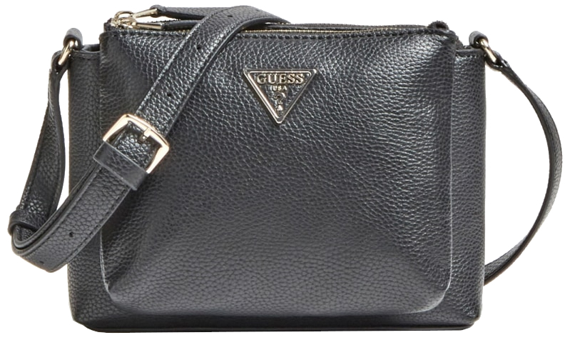 Guess Dámska crossbody kabelka Becca Double Zip Crossbody HWVG77 42690 black-bla