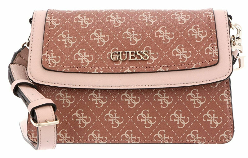 Guess Dámska crossbody kabelka Camy Crossbody Flap HWSG77 41180 Cinnamon Multi