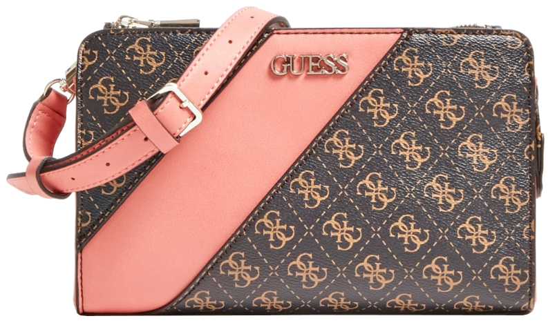 Guess Dámska crossbody kabelka Camy Double Zip Crossbody HWSG77 41690 multi-brm