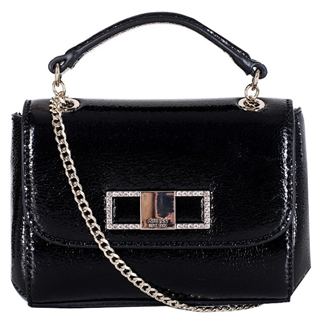 Guess Dámska crossbody kabelka Dinner Date Mini Xbody Flap HWMC77 53780 Black