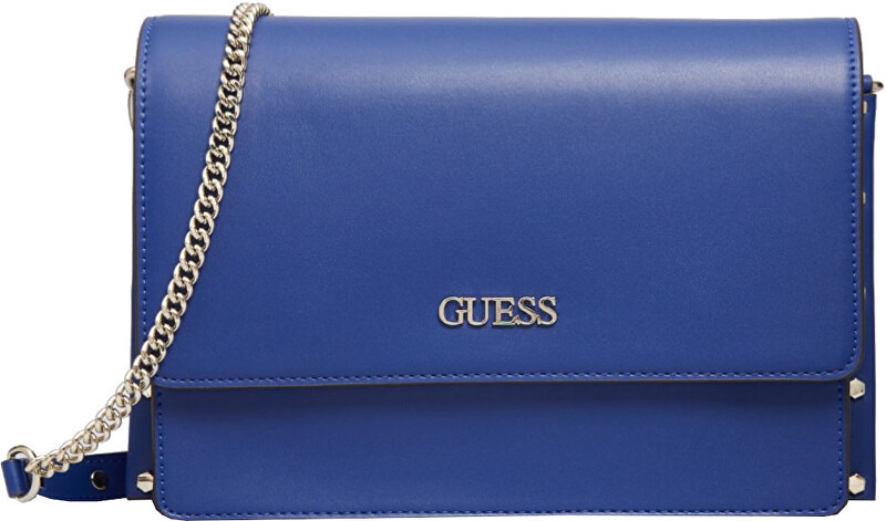 Guess Dámska crossbody kabelka Tia Convertible Crossbody Flap HWVG78 80210 blue