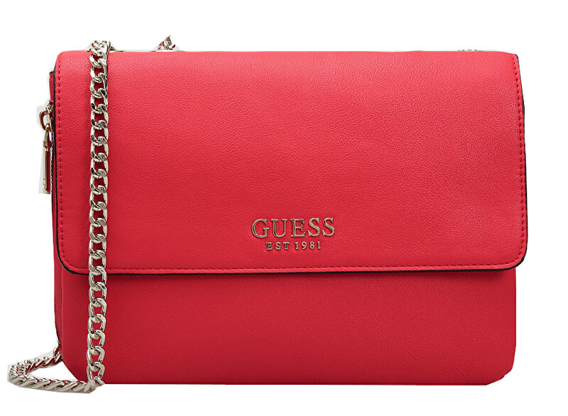 Guess Dámska kabelka G Chain Convertible Xbody Flap HWRG77 39210 Red