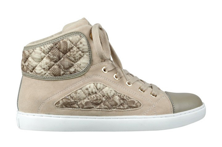 Guess Tenisky Revera Tweed High-Top Sneakers natural 38,5