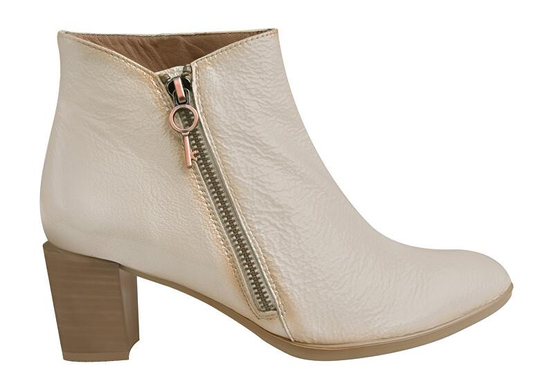 Hispanitas Dámské kotníkové boty HI00769 Vainilla 39