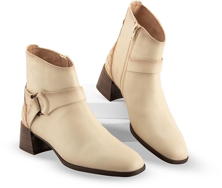 Hispanitas Dámské kotníkové boty HI211744 Vainilla 36