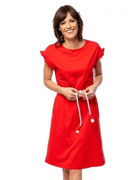 Heavy Tools Dámske šaty Volva red E9S21296RE L