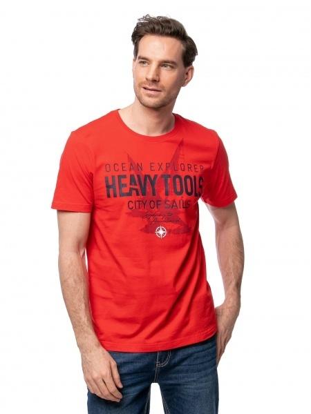 Heavy Tools Pánske tričko Madanes red C3S21316RE L