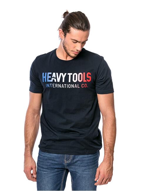 Heavy Tools Pánske tričko Marrias navy C3S21318NA L