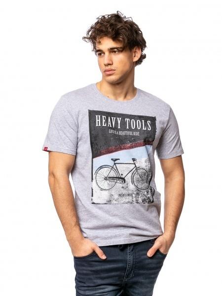 Heavy Tools Pánske tričko Mortimas string C3S21308ST M
