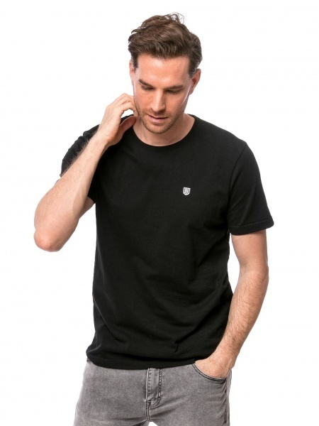 Heavy Tools Pánske tričko Mossebon black C3S21313BL L