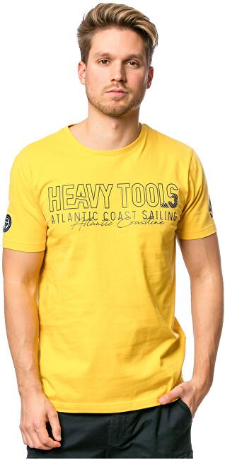 Heavy Tools Pánske tričko Militar yellow C3S20117YE M