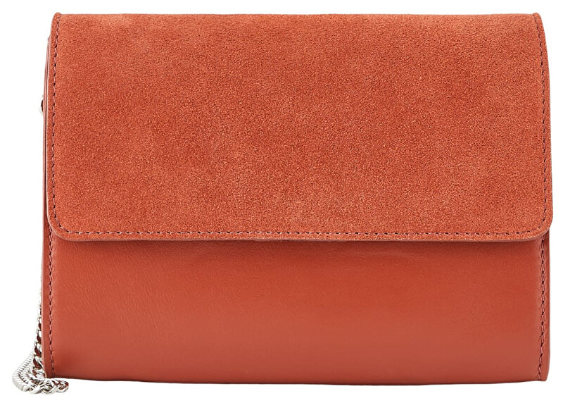 Pieces Dámska crossbody kabelka PCHILDA LEATHER CROSS BODY Picante