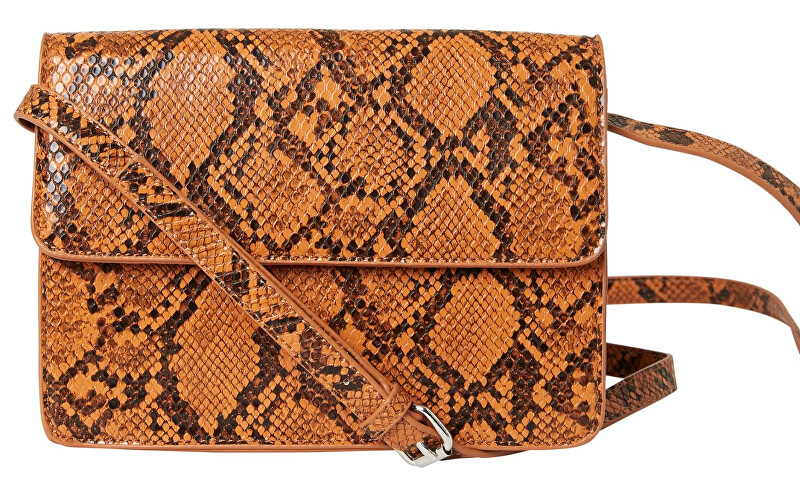 Pieces Dámska crossbody kabelka PCJULIE CROSS BODY Cognac