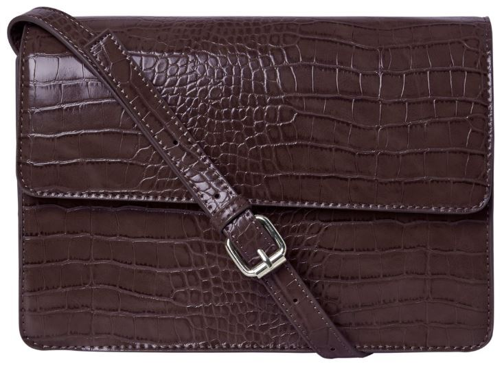 Pieces Dámska crossbody kabelka PCJULIE CROSS BODY Noosa Choco late Plum