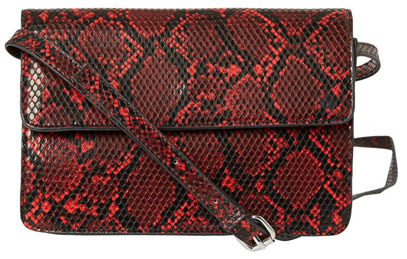 Pieces Dámska crossbody kabelka PCJULIE CROSS BODY Racing Red