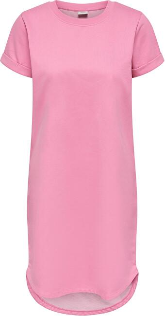 Jacqueline de Yong Dámske šaty JDYIVY LIFE 15174793 Sachet Pink XS