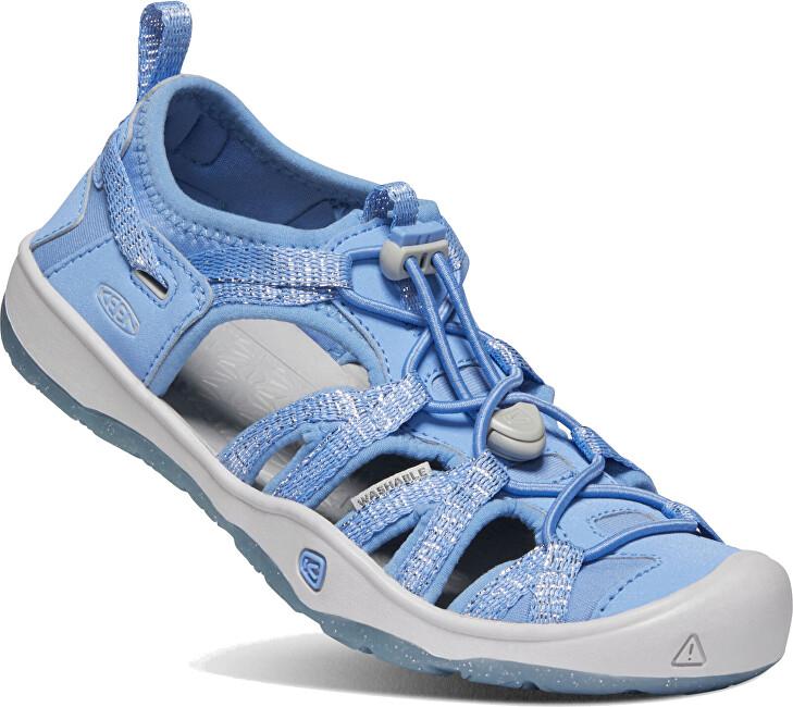 KEEN Detské sandále MOXIE SANDAL JUNIOR 1022888 della blue / vapor 36 AKCE