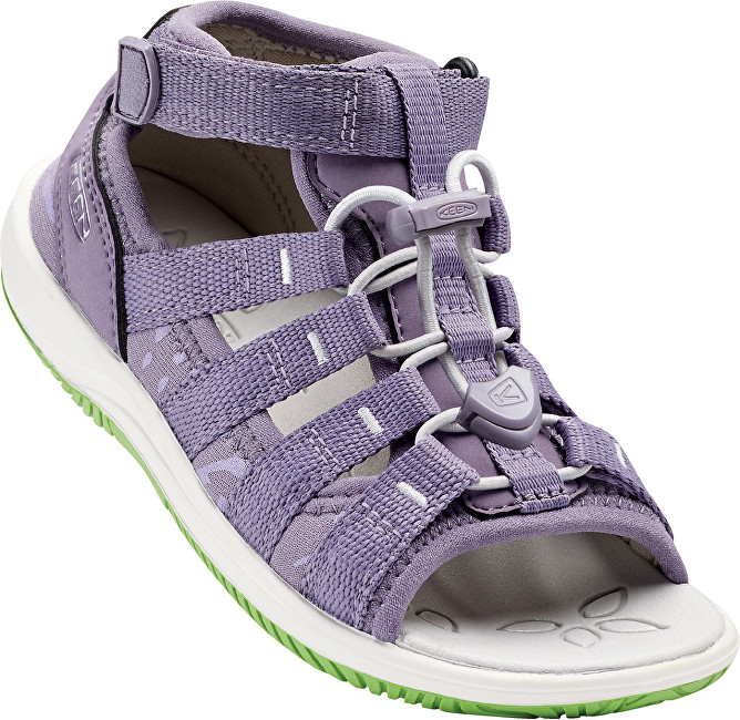 KEEN Junior sandály Hadley Purple Sage/Greenery 32-33