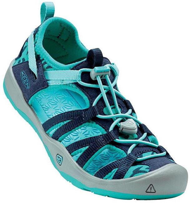 KEEN Junior sandále Moxie Sandal Dress Blues/Viridian 35 AKCE
