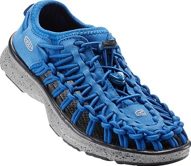 KEEN Junior sandály Uneek 02 True Blue/Neutral Grey 32-33