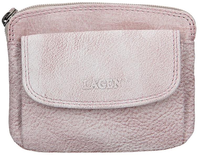 Lagen Dámská kožená peněženka 786-382 Plum