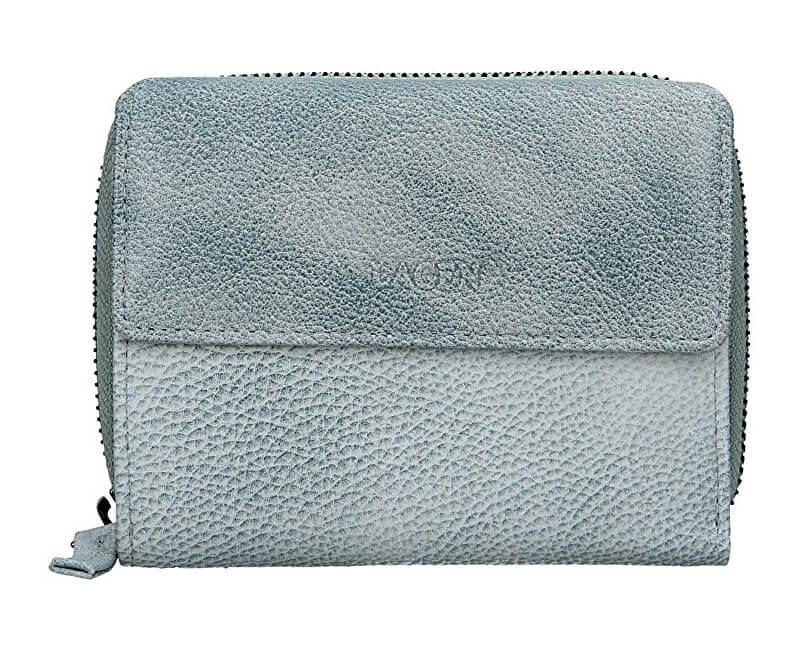 Lagen Dámska kožená peňaženka LG-932 Ocean Blue