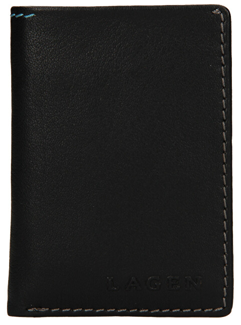 Lagen Pánska kožená peňaženka tp-810 Black