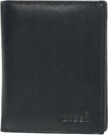 Lagen Pánska kožená peňaženka 02310004 Black